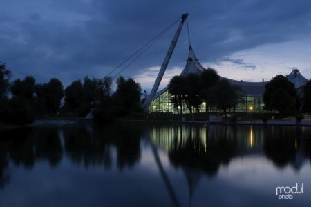 Olympiapark und Schwimmhalle