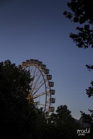 Dämmerung Olypmpiapark Frühlingsfest