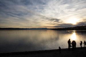 Starnberger See im Dezember 2
